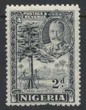 Nigeria  SG 37  SC# 41 MH 1936 issue Timber Industry  please see scan