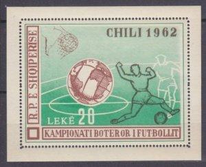 1962 Albania B11 1962 FIFA World Cup in Chile 40,00 €