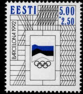 Estonia Scott B62  MNH** Olympic semi-postal stamp