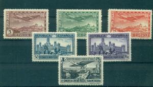Spain - Sc# C62-7. 1931 Madrid Postal Cong. Mint LH. $10.85.