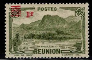 Reunion CFA Scott 177A MH* surcharged stamp 1941