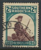 Southern Rhodesia  SG 61  SC# 64   Used  Occupation of Matabeleland see details