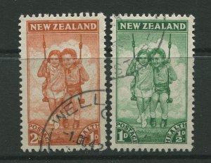 STAMP STATION PERTH New Zealand #B20-B21 Semi Postal Issue  FU 1942 CV$2.20
