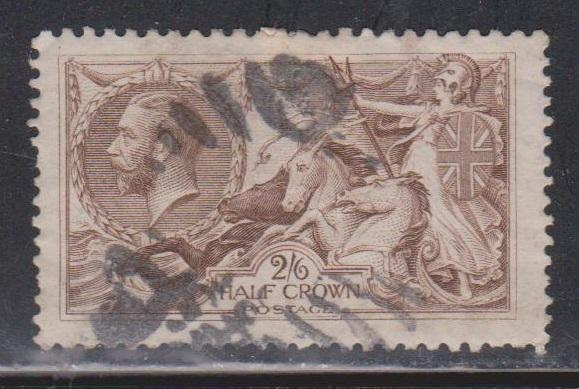 GREAT BRITAIN Scott # 179 Used - KGV Seahorse High Value