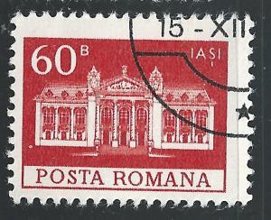 Romania #2457 60b National Theater Iasi CTO