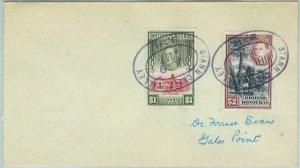 BK0414 - British Honduras - POSTAL HISTORY - COVER postmarked STANN CREEK VALLEY