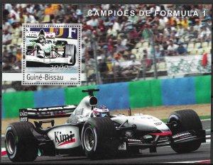 Guinea-Bissau MNH S/S Formula 1 Race Car 2003