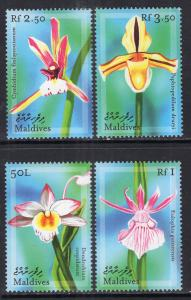 Maldive Islands 2461-2414 Flowers MNH VF