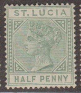St. Lucia Scott #27a Stamp - Mint Single
