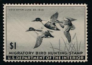 UNITED STATES RW12 Mint NH VF