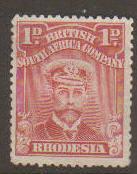 Rhodesia #126a Mint No Gum