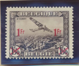 Belgium Stamp Scott #C6, Mint Hinged