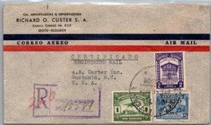 Ecuador, Registered