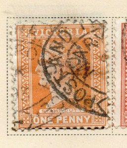 Victoria 1890-91 Early Issue Fine Used 1d. 326782
