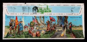 US Stamp Sc# 1305 on Memphis Squicentennial Amazing Postal Envelope- 1969