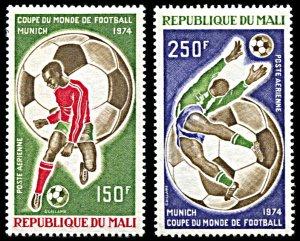 Mali C208-C209, MNH, 1974 World Cup Football Championship