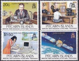 Pitcairn Islands  #432-5  MNH CV $7.70 (Z6160)