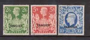 Great Britain Offices In Morocco #543 - #545 VF Used Scarce High Values