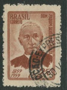 Brazil - Scott 894 - Joachim Silverio De Souza- 1959 - Used- Single 2.50cr Stamp