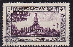 LAOS [1951] MiNr 0007 ( O/used )