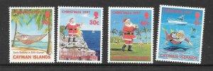 CAYMAN ISLANDS SG852/5 1997 CHRISTMAS MNH