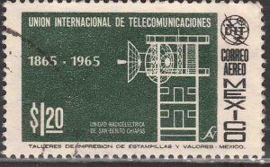 MEXICO C304, Centenary of the I. T. U., USED. VF. (634)
