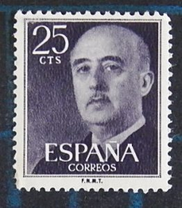 Spain, 1955, Definitive Issue - General Franco, (2537-Т)