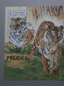 CAMBODIA STAMP: 1998 SC#1699  NEW YEAR OF THE TIGER CTO MNH S/S   SHEET-