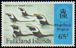 Falkland Islands #667-670 Mint Never Hinged Complete Set ( 4 ), 1997, Birds, ...
