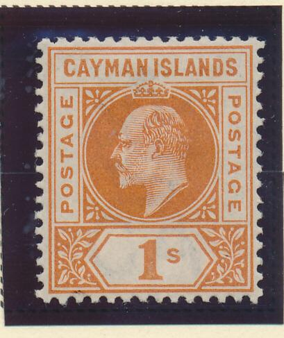 Cayman Islands Stamp Scott #7, Mint Hinged - Free U.S. Shipping, Free Worldwi...