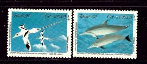 Brazil 2352-53 MNH 1992 Marine Life