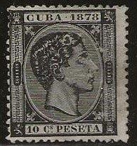 CUBA SC #  77 MHR NO G