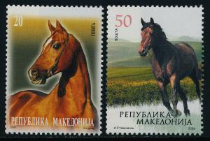 Macedonia 472-3 MNH Horses