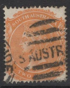 SOUTH AUSTRALIA SG174 1893 2d PALE ORANGE USED