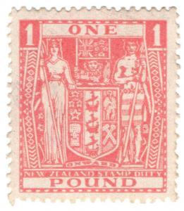 (I.B) New Zealand Revenue : Stamp Duty £1