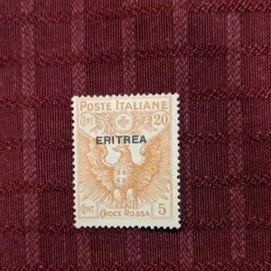 Eritrea B3 F-VFNG, CV $4.75