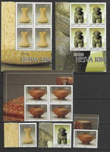French Polynesia 1055-7 MNH set x 5 ea.,. vf see desc. 2020 CV$48.75