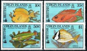 Virgin Islands #668-71 MNH CV $13.25 (X930)
