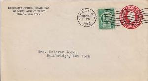 United States, 1940's Commemoratives, New York, Postal Stationery