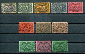 Guatemala SC# 60-4, 66-8, 70, 72-3 Coat of Arms SCV $9.35