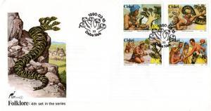 Ciskei - 1990 Folklore FDC SG 161-164