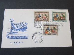 Vatican 1962.4.12 FDC