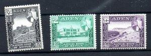Aden Seiyun 1964 fine mint set SG39-41 WS18787