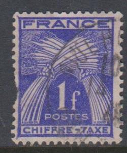 France Sc#J72 Used Fault
