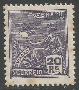 BRAZIL 302a VFU Z1943-4
