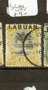 LABUAN   (P2907B) 3C TREE JUBILEE  SG85     VFU