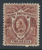 Uganda Protectorate Queen Victoria  SG 86  SC#71 Mint Hinged -  see details