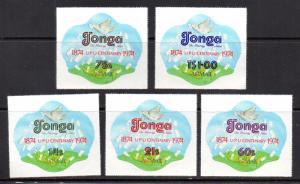 Tonga C154-C158 mint