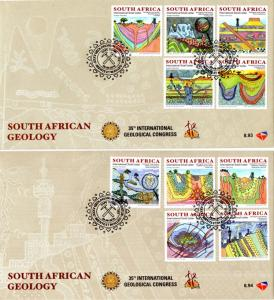 South Africa - 2016 Geological Congress FDC Set