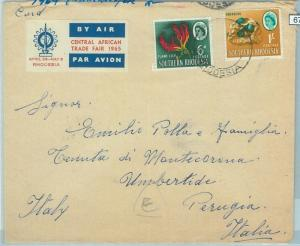 67391 - SOUTHERN RHODESIA  - Postal History -   COVER  to  ITALY  1964